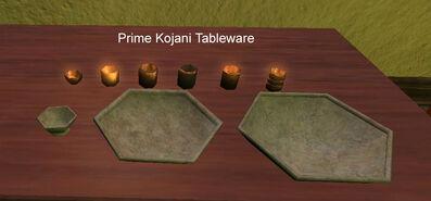 Prime Kojani Tableware