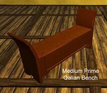 Medium Prime Qalian Bench