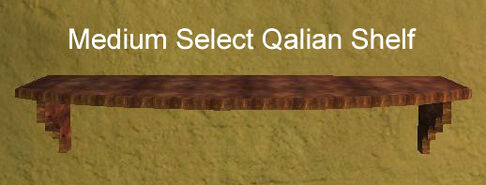 Medium Select Qalian Shelf