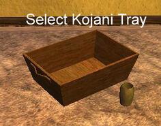 Select Kojani Tray