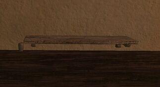 Small standard kojani shelf
