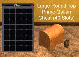 Large Round Top Prime Qalian Chest