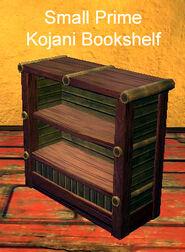 Small Prime Kojani Bookshelf