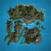 Isle of Dawn Map