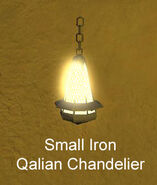 Small Iron Qalian Chandelier