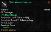 Plain Warden's Arrow