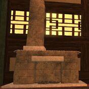 Limestone qalian medium fireplace