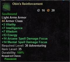 Obin's Reinforcement