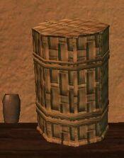 Sealed firegrass kojani basket