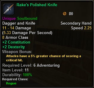 RakesPolishedKnife