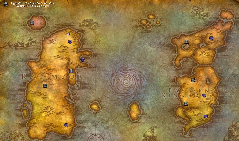 BfA world map doesn't make sense