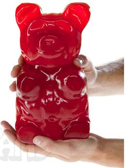 Gummybearredcherry