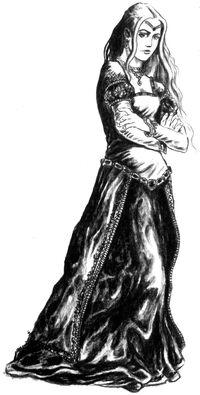 Паветта (Рисунок Jana Komárková)
