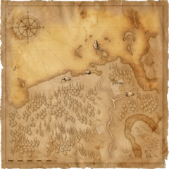Карта берега