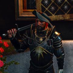 Нильфгаардский солдат в игре Ведьмак 3