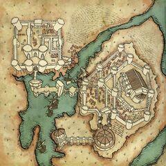 Карта замка Ла Валлетов
