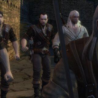 Ведьмаки, при нападении на Каэр Морхен