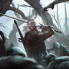 Геральт в игре «Гвинт: Ведьмак. Карточная игра»