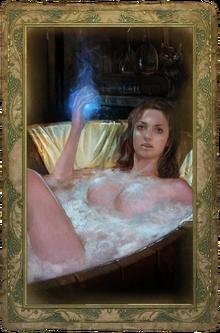 """Эротическая карта """"Трисс Меригольд"""" (Версия с цензурой)"""