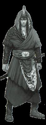Эльфийский воин (не Скоя'таэль)