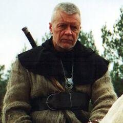 Старый ведьмак из сериала (Wojciech Duryasz)