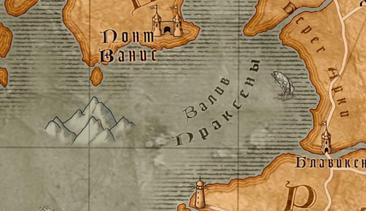 Places Gulf of Praxeda