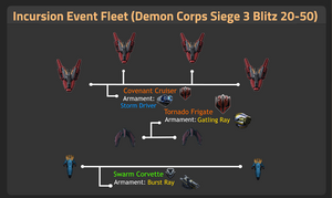 Demon Corps Siege 3 Blitz (20-50)