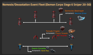 Demon Corps Siege 6 Sniper 20-50 updated