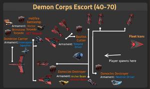 Demon Corps Escort (40-70)