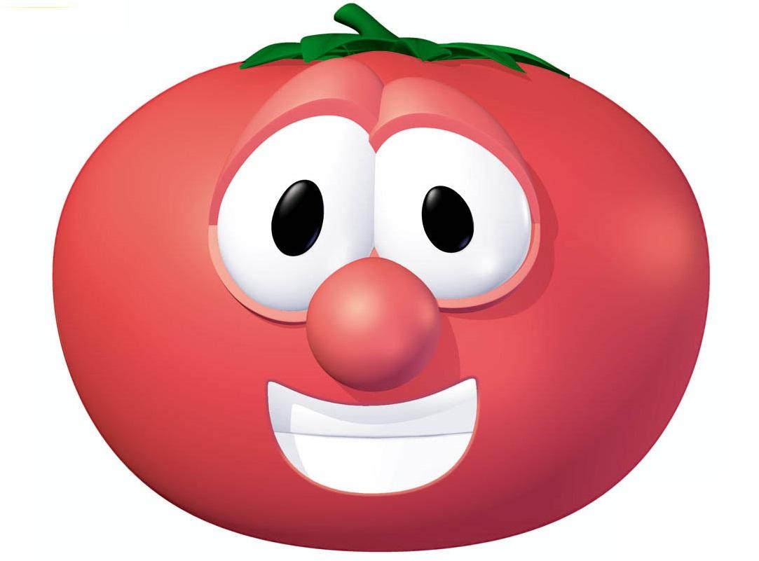 Bob the Tomato | VeggieTales - the Ultimate Veggiepedia ... Veggie Tales Larry The Cucumber And Bob The Tomato
