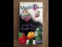 VeggieTales Are You My Neighbor 1995 VHS Original