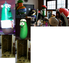 VeggieTales Puppet Heap
