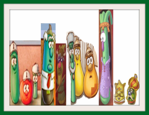 File:VeggieTales Lord of the Beans Museum Matte Frames.jpg
