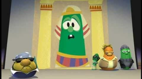 VeggieTales A Mess Down in Egypt - Silly Song-0