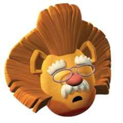 Pa as Lion in