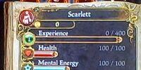 Scarlett's Basic Attributes
