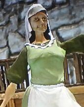 Unnamed Inner City Street Merchant Woman