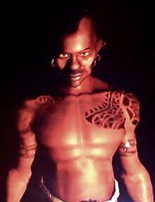 Juma tribesman