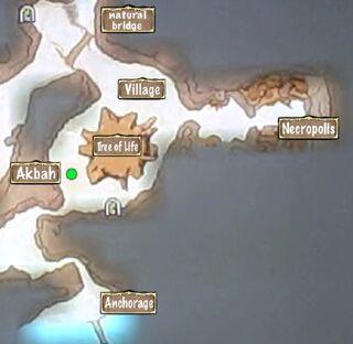 Person Map Akbah Juma