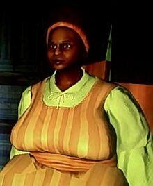 Juma tribeswoman in Skullbreak Tavern