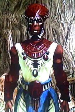 Juma Warrior in Africa