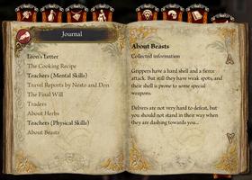 Journal travelog