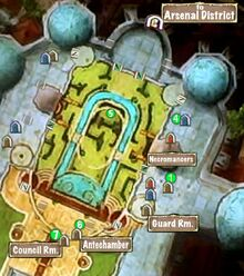 Quest Map Glory Forsaken Palace