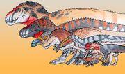Feathery T-Rex