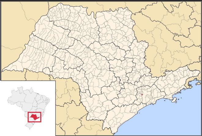 Mapa de Taboão da Serra em São Paulo