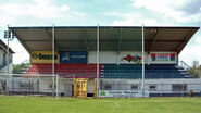 Aschaffenburg - Stadion am Schönbusch - Neue Hintertortribüne
