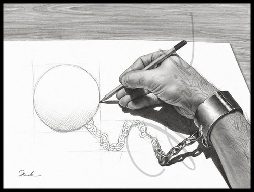 File:Hand drawing its own chain.jpg