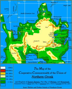 NorthernGronk Map