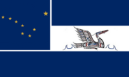 Alaska State Flag Proposal No 5 Designed By Stephen Richard Barlow 08 SEP 2014 at 2131hrs cst
