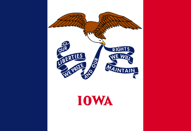 File:Current flag of Iowa.png